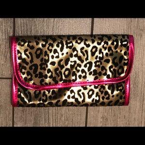 Juicy couture folding makeup brush holder